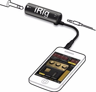 irig amplitube conecta tu guitarra a tu iphone ipad o ipod