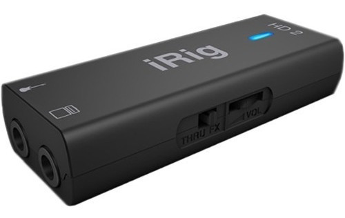 irig hd 2 interface para iphone ipad ipod  ik multimedia