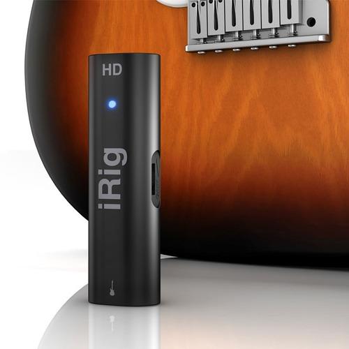 irig hd ik interface áudio placa som ipad iphone android mac
