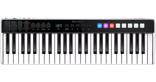 irig keys i/o 49 ik teclado controlador midi usb ios mac pc