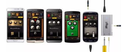 irig ua ik interface de áudio p/ android