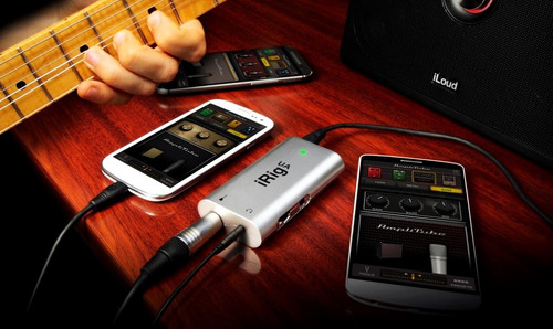 irig ua interfaz android guitarra bajo