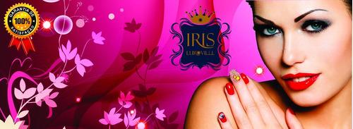 iris euroville adesivos, kit com 10 cartelas frete grátis!
