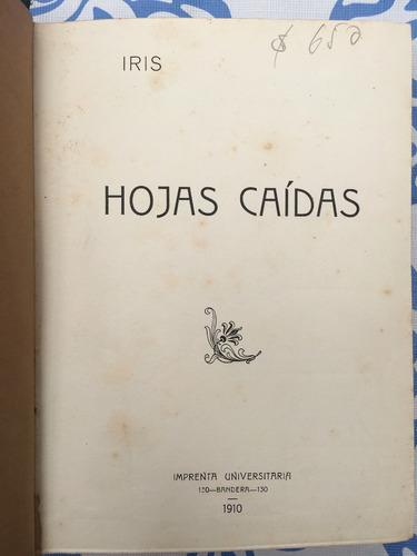 iris, hojas caídos, 1 edición 1910 - lc