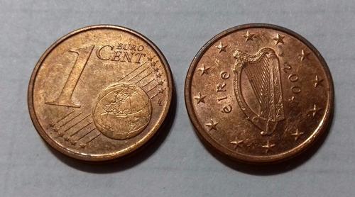 irlanda 2004 moneda de 1 céntimos de euro