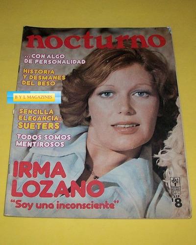 irma lozano revista nocturno 1976  envio gratis