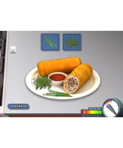 iron chef america /supreme cuisine - nintendo wii