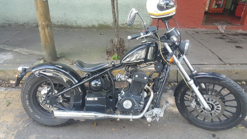 iron clan bobber i350