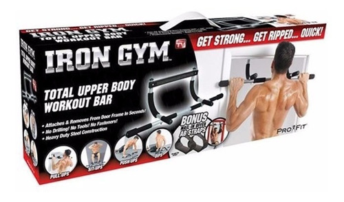 iron gym barra de ejercicio multifuncional