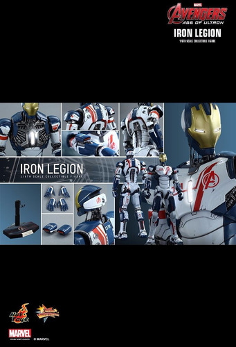 iron legion hot toys1/6 avengers (iron man-star wars-marvel)
