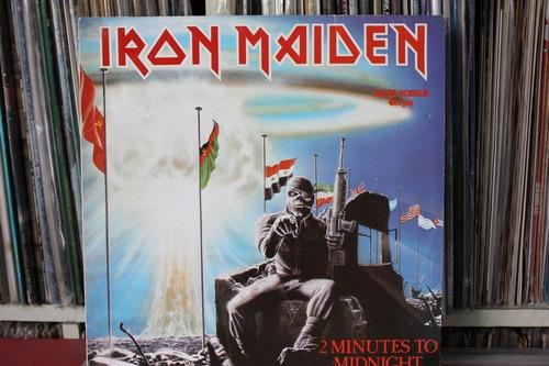 iron maiden 2 minutes to midnight importado lp