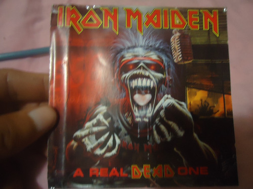 iron maiden a real dead one cd