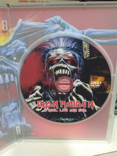 iron maiden - a real live one dvd