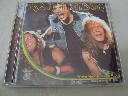 iron maiden  brave new rock in rio live 2001 2cd bootleg