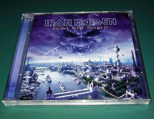 iron maiden - brave new world - cd nuevo cerrado - importado