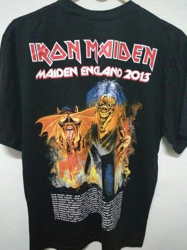 iron maiden camiseta oficial merchandising