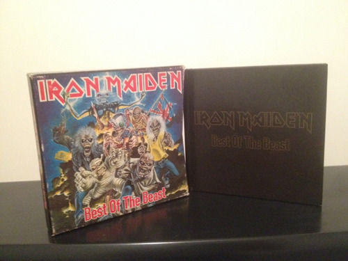 iron maiden cd best of the beast