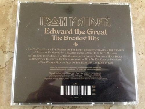 iron maiden cd edward the great nacional excelente estado