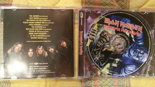 iron maiden cd no prayer for the dying