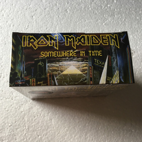 iron maiden cd somewhere in time box studio collection 2019