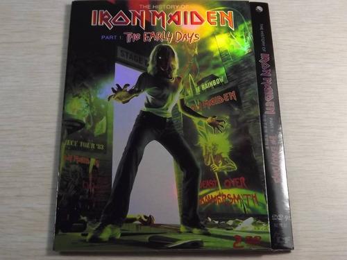 iron maiden early days part 1 04 2dvd(ex+/ex+)pal(eu)imp***