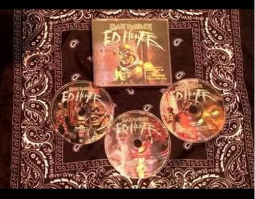 iron maiden ed hunter 3 cds
