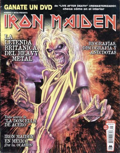 iron maiden en revista hombres y mitos