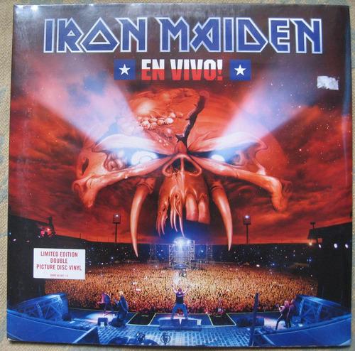iron maiden - en vivo (emi 50999 301587 1 9) ue