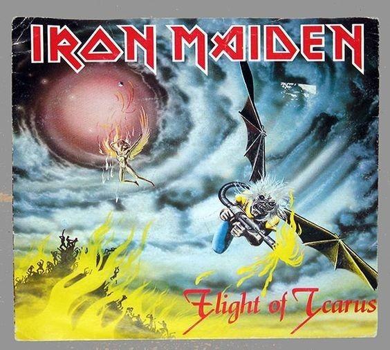 Resultado de imagen para iron maiden ''Flight Of Icarus'