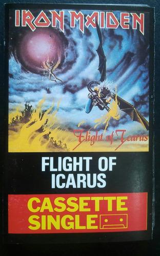 iron maiden flight of the icarus cassette single 1983