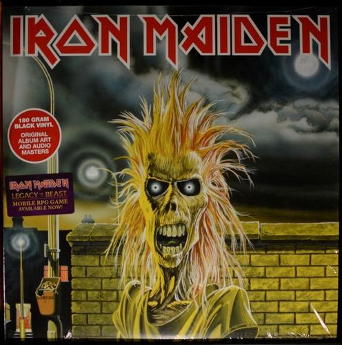 iron maiden iron maiden lp vinilo180grs.import.new en stock