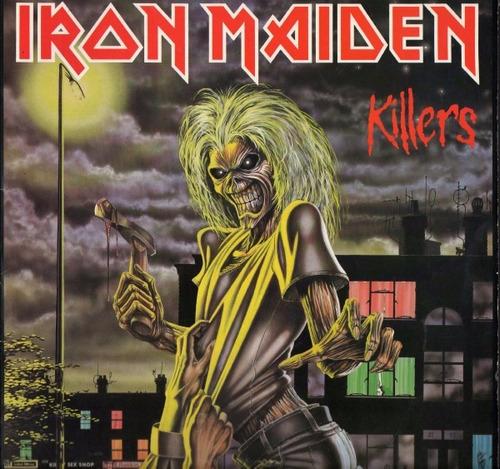 iron maiden     killers     cd nuevo y sellado