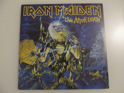 iron maiden - live after death ( usa 1985 lp vinilo )