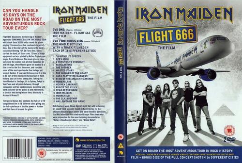 iron maiden live flight 666  2 dvd