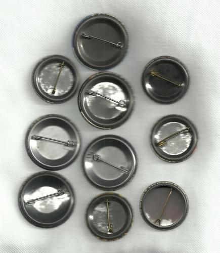 iron maiden : lote de chapas o pines impórtados originales
