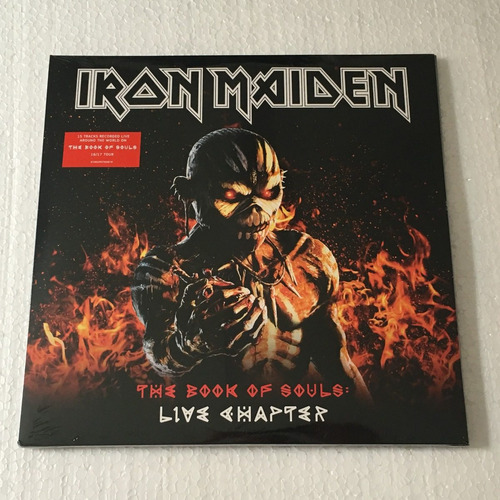 iron maiden lp the book of souls: live chapter vinil 2017