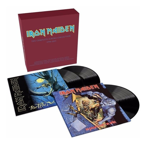 iron maiden - no prayer for the dying- fear of the dark box