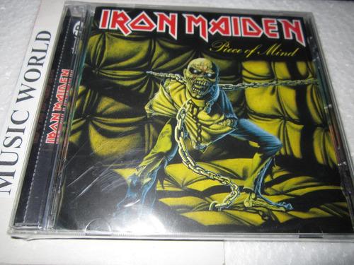 iron maiden piece of mind -cd +bonus  -  nuevo sellado