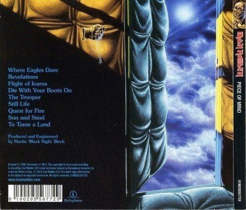 iron maiden piece of mind cd eu nuevo y sellado musicovinyl