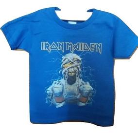 1d758e43f3 Camiseta Iron Maiden Powerslave - Vestuario y Calzado en Mercado ...