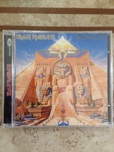 iron maiden powerslave cd lacrado