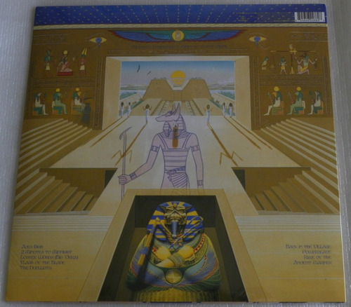 iron maiden powerslave lp selado made in england 2014 +