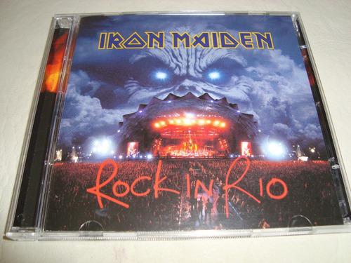 iron maiden  rock in rio  2cd  usa