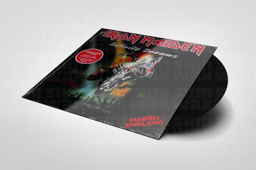 iron maiden - run to the hills (live) vinilo 7'' simple