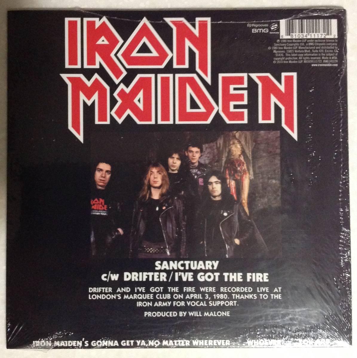 Iron Maiden - Sanctuary (vinyl Single, 2014) - $ 320.00 en