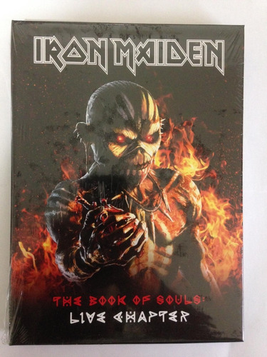 iron maiden-the book of souls: live chapter (deluxe edition)