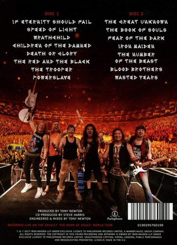 iron maiden  the book of souls live chapter deluxe edition