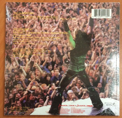 iron maiden - the clairvoyant (vinyl single, 2014)