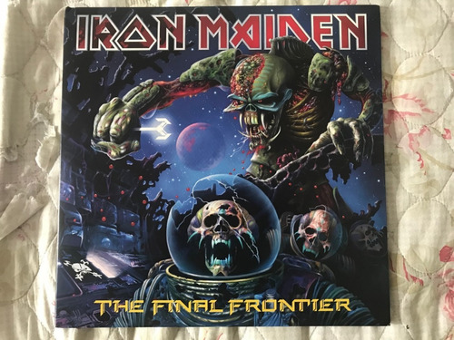 iron maiden the final frontier vinil lp picture - seminovo
