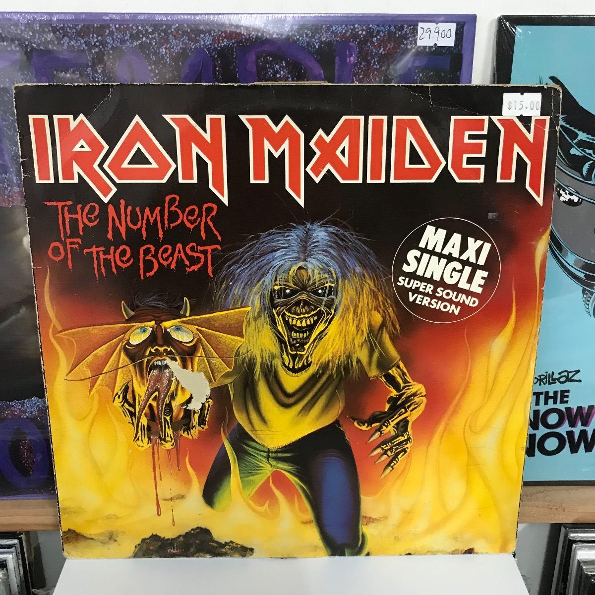 iron maiden the number of the beast vinilo musicovinyl 19 900 en